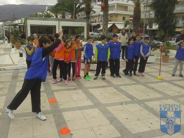 Kids Athletics στην Σητεία 23.11.2014 10